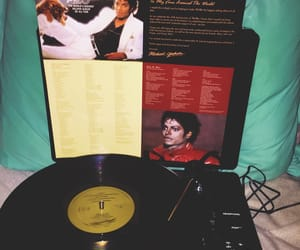 80s, records, and michaeljackson image