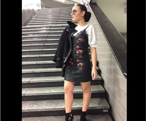 flower, pretty, and ootd image