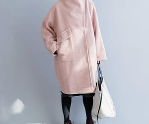 etsy, long wool coat, and winter coat image