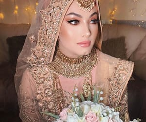 aesthetic, bridal, and makeup image