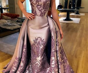 dress, gown, and modest gown image
