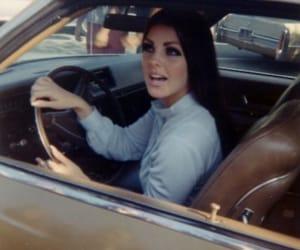priscilla presley, car, and Queen image