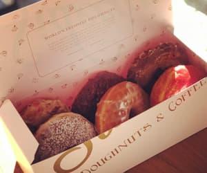 box, dessert, and donut image