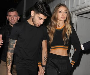 gigi hadid, fashion, and zayn malik image