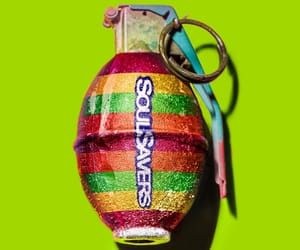 contemporary art, lifesavers, and Grenade image