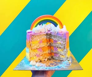 cakes, colors, and desserts image
