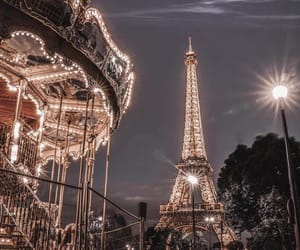 paris, france, and night image