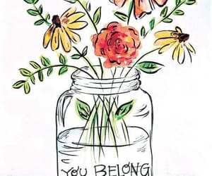 flowers, quotes, and wildflowers image