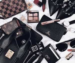 cosmetics, details, and Louis Vuitton image