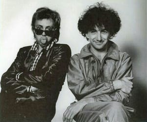 80s, band, and black and white image