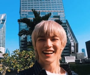 taeyong, smile, and nct image