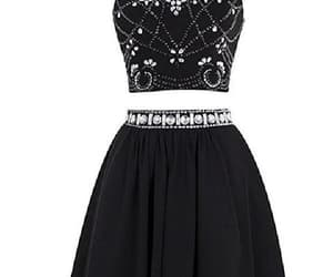 black prom dress and cute prom dress image