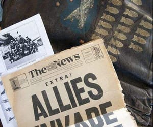 newspaper, world war 2, and world war ii image