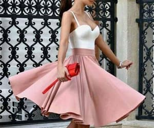 homecoming dresses short, blush homecoming dresses, and prom dresses a-line image