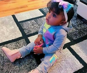 instagram + pinterest, fashion + hairstyles, and baby girl + babies image