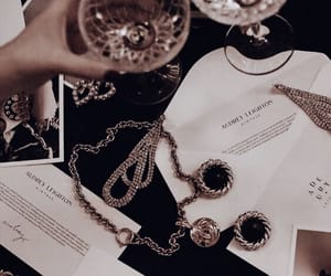 aesthetic, drink, and gold image