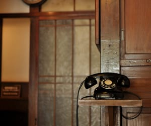 photography, telephone, and vintage image