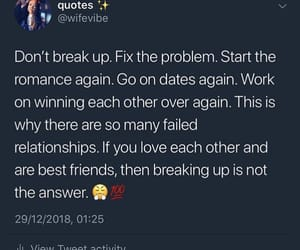 breakup, date, and dates image