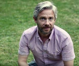 beard, Martin Freeman, and grisalho image