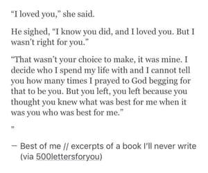 brokenheart, heart break, and i loved you image
