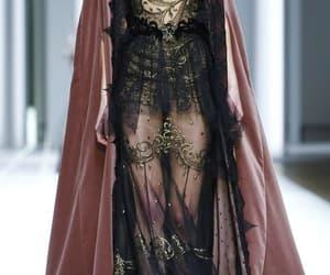 dress, background, and fashion image