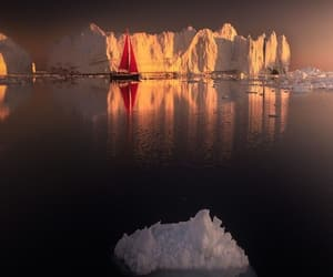 awesome, greenland, and icebergs image