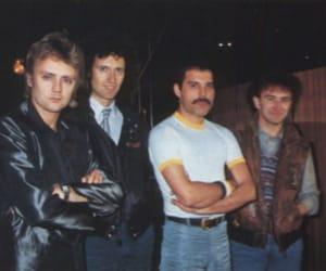 80s, Freddie Mercury, and rock image