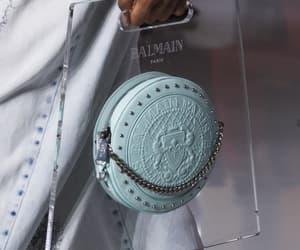 bags, Balmain, and Couture image
