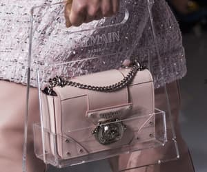 bags, haute couture, and pink image