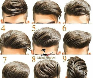 hair cut, lovely, and handsome image