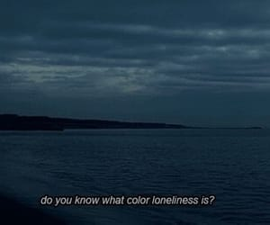 grunge, loneliness, and blue image