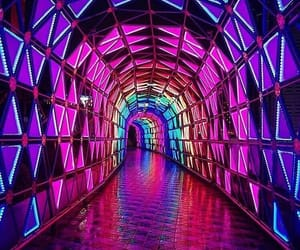 colors and neon image