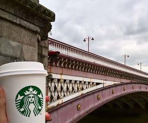 coffee, london, and starbucks image