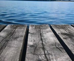 lake, nature, and summer image