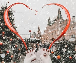 holiday, new year, and snow image