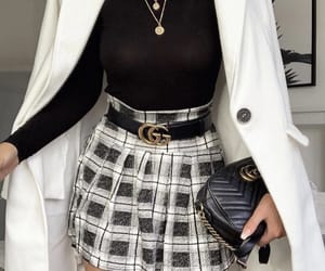 black, classy, and girl image
