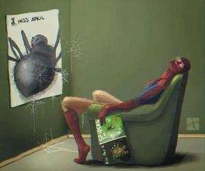 spiderman, spider, and funny image