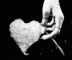 diamond, rihanna, and heart image