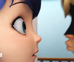 Adrien, Chat Noir, and couple image