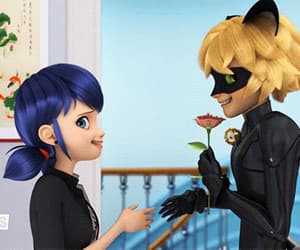 Adrien, marinette, and anime image