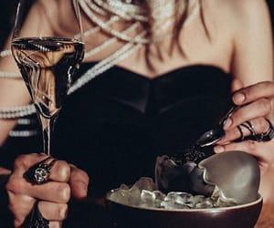 beautiful, black, and caviar image