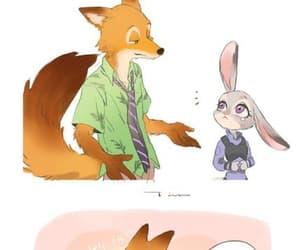 animation, couple, and rabbit image