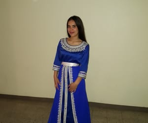 Algeria, blue, and woman image
