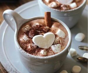 christmas, winter, and hot chocolat image