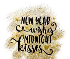 january, kisses, and midnight image