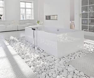 white, bathroom, and design image
