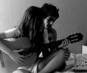 black and white, music, and couples image