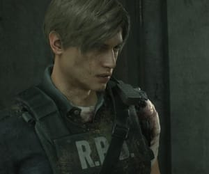 resident evil and leon kennedy image