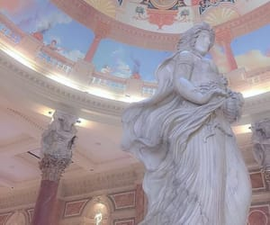 aesthetic, statue, and pastel image
