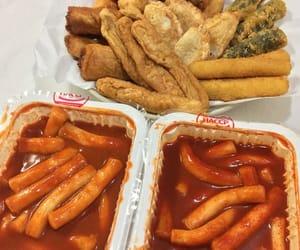 food, korean, and tteokbokki image